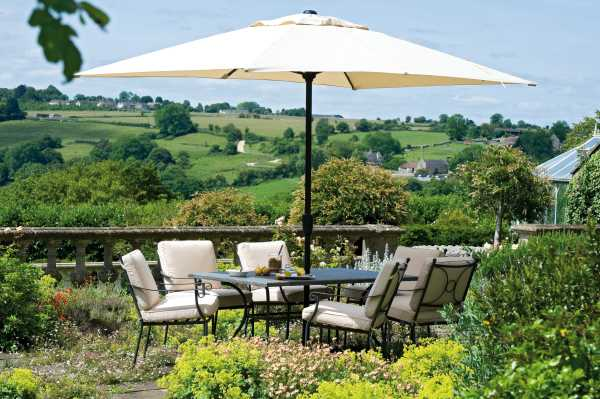 Monaco 6 Garden Furniture Suite