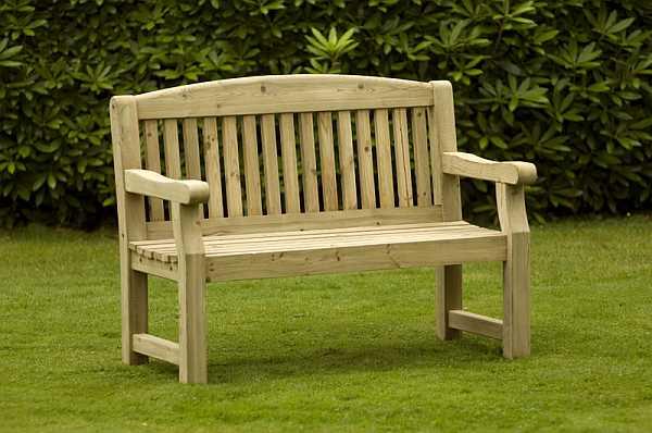 Atholl Chunky 2 Seat Garden Bench