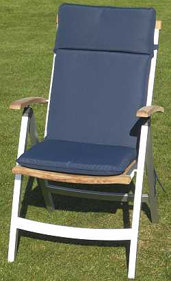 Recliner Cushion Navy Blue