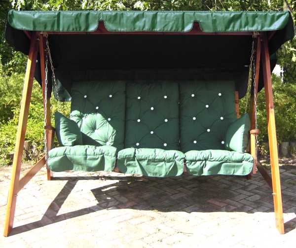 dp set cushion amazon hammock uk seater lb dark swing swinging cushions co green