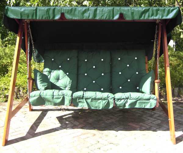 swing hammock cushion set azure 3 seat swing seat hammock cushion set  rh   gardenfurnitureengland co uk