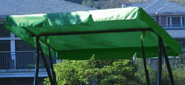 Forest Green Canopy & 3 Seat Swing Hammock Canopy Carnival