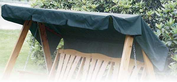 Canopy only for Metal Framed Hammock in Green - GardenSite.co.uk