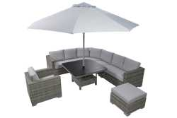 Aya Corner Outdoor Lounge Set