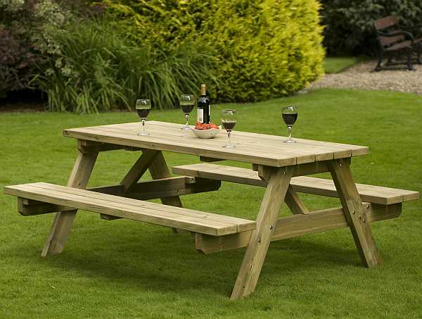 Atholl Chunky 8 A Frame Picnic Table
